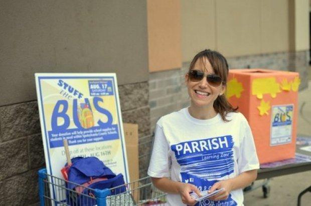 Nina Parrish at Wal-Mart.