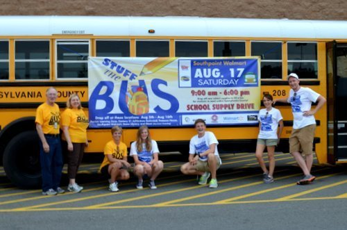 Stuff The Bus Group Shot
