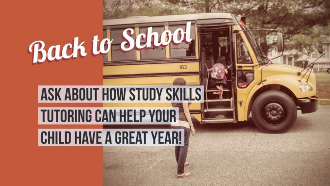 back to school, study skills, tutoring