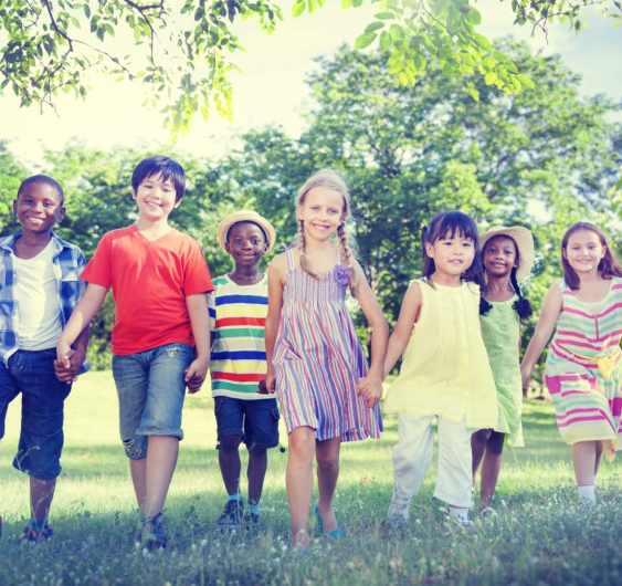 teach, kindness, Diverse, Children, Friendship, Playing, Outdoors, Concept