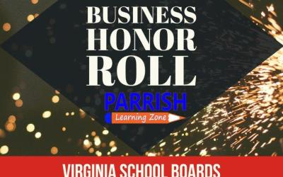Virginia School Boards Association Business Honor Roll