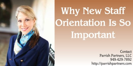 Why New Staff Orientation Is So Important