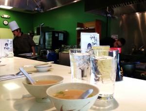 Great Miso Soup at Fuji's.