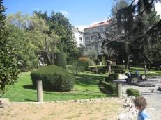 Giardino casa generalizia delle orsoline di Bergamo