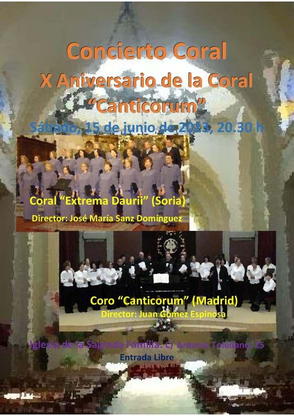 2013 06 15 Concierto Coral Cartel