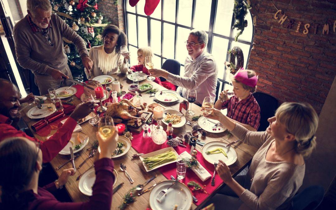 Bendición de la Mesa en Navidad