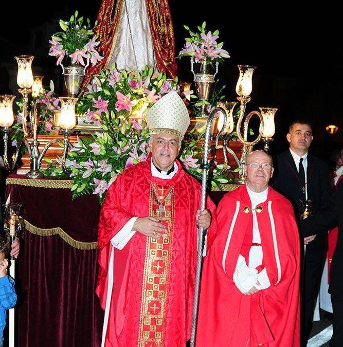 Don Bernardo abre el IV Centenario de la Parroquia de Santa Úrsula