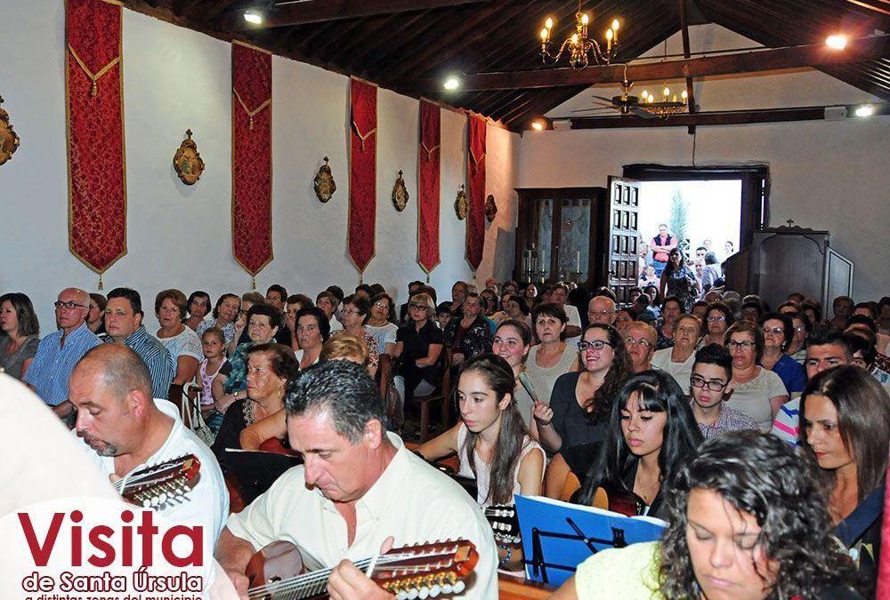 Santa Úrsula llegó a Pino Alto