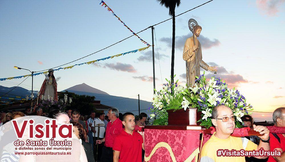 La imagen de Santa Úrsula se encuentra en Tamaide