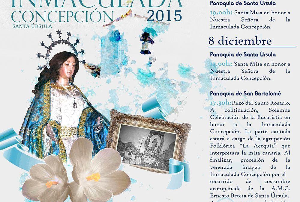 Celebración de la Inmaculada Concepción 2015