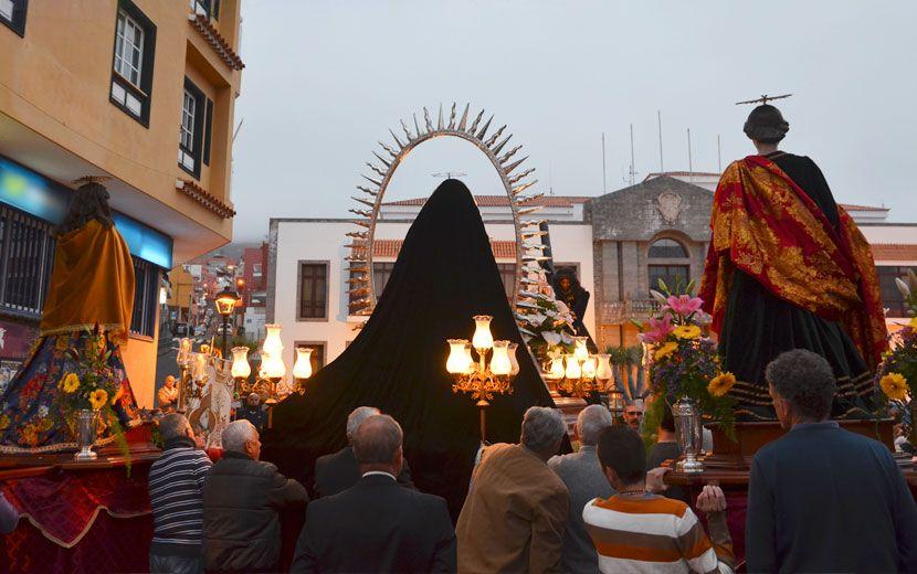 Palabras de Juan Acosta alcalde de Santa Úrsula  con motivo de la Semana Santa 2016