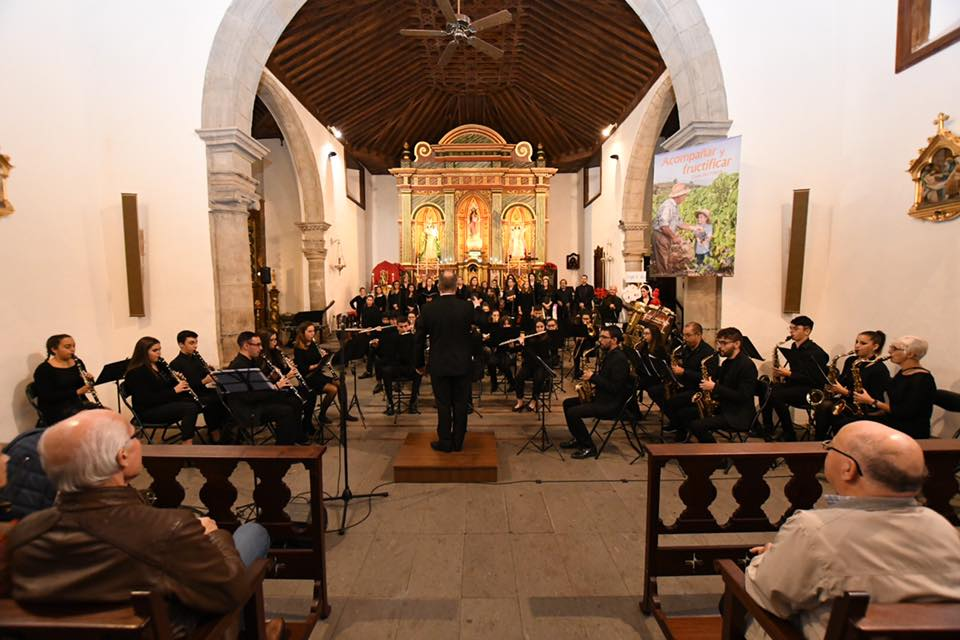 Gran éxito del Tradicional Concierto de Navidad en Santa Úrsula