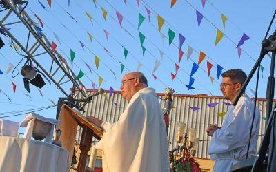 La fiesta de San Luis  hace presente el acontecimiento de una vida totalmente entregada a Dios
