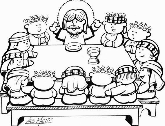 Jesús celebró la última cena con sus discípulos | Parroquia Ntra ...
