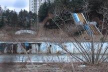 Abandoned resort faded