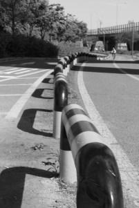 Beware, bike path