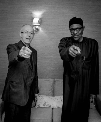 Caption This Pic Of President Buhari And Archbishop Of Canterbury