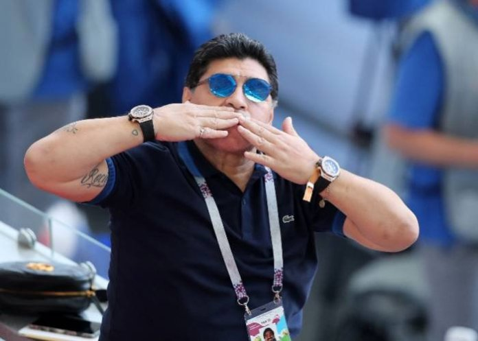 """You took us to top of the world"" - Emotional Argentine President on Maradona"
