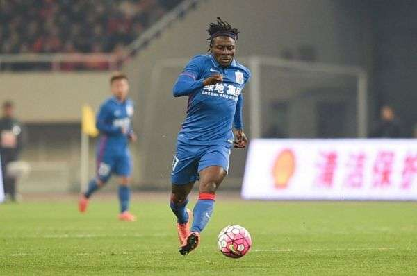 Obafemi Martins Ends Two-Year Goal Drought in China