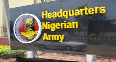Army to demand identity cards from Nigerians