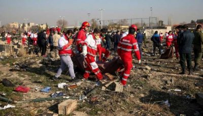 Countries to sue Iran for nationals' death in Ukrainian airliner crash