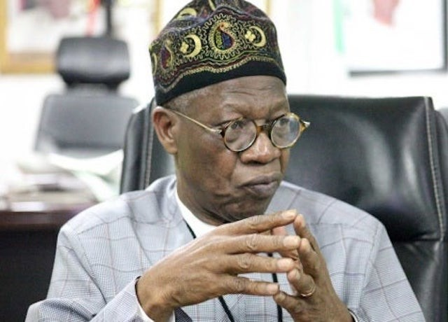 """Coronavirus: Nigerians busy making """"meaningless criticisms"""" instead of complying with directives – Lai Mohammed"""