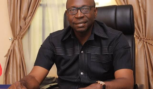 BREAKING: Ize-Iyamu collects APC governorship form