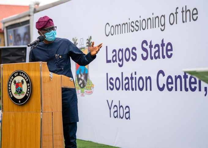 Sanwo-Olu commissions another COVID-19 isolation centre(Photos)