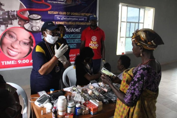 Gbagi Foundation sponsors free eye tests, surgeries for over 300 Delta residents