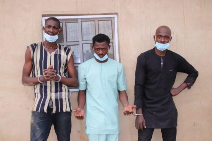 3 Emmanuel brothers murder woman, bury her in tank, then demand ransom
