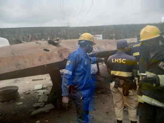 BREAKING: Another gas explosion rocks Lagos, one drops dead