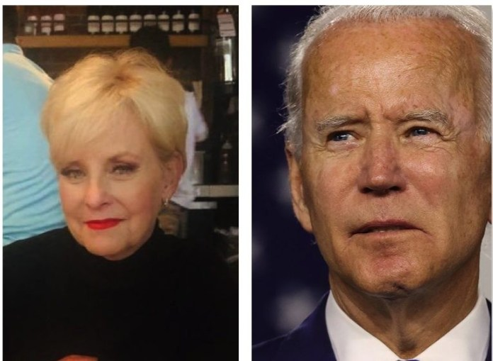 Cindy McCain widow of Republican Senator John McCain endorses Joe Biden