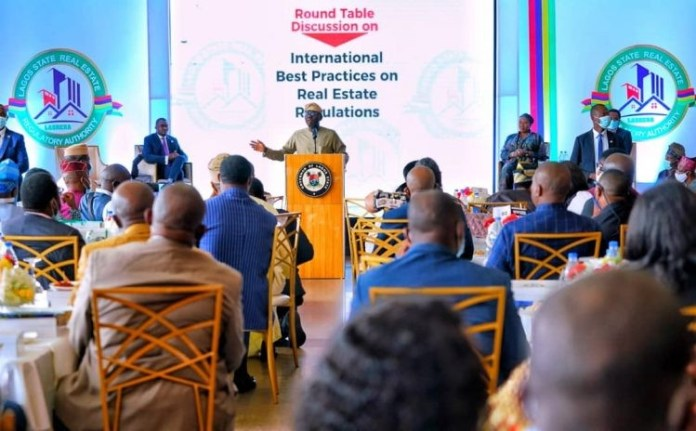 SANWO-OLU HARPS ON BEST PRACTICES FOR REAL ESTATE SECTOR