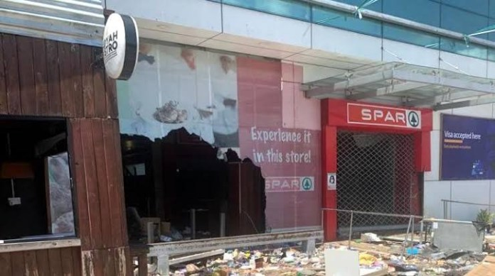 #EndSARS: SPAR sends thought-provoking message to Nigerians after store got looted