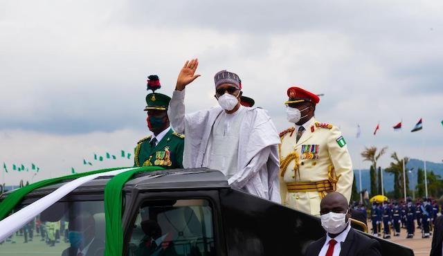 Photos from Eagle Square Abuja