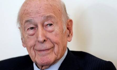 Former French president Giscard d'Estaing is dead