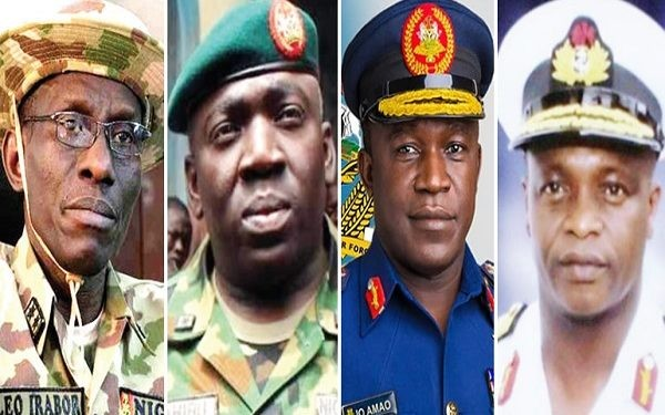 BREAKING: House of Reps confirms Service Chiefs
