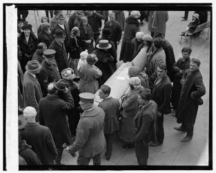 Gypsy funeral, 1924
