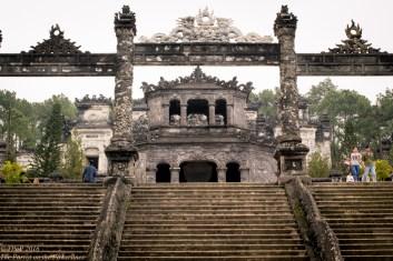 Khai Dinh main gate