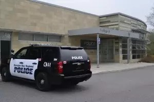 Canadore College becomes a police station