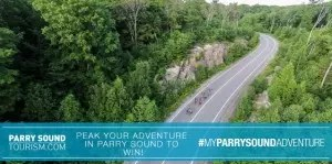 Cycling in Parry Sound