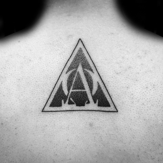 43 Fabulous Alpha Omega Tattoo Designs Made With Black Grey Ink