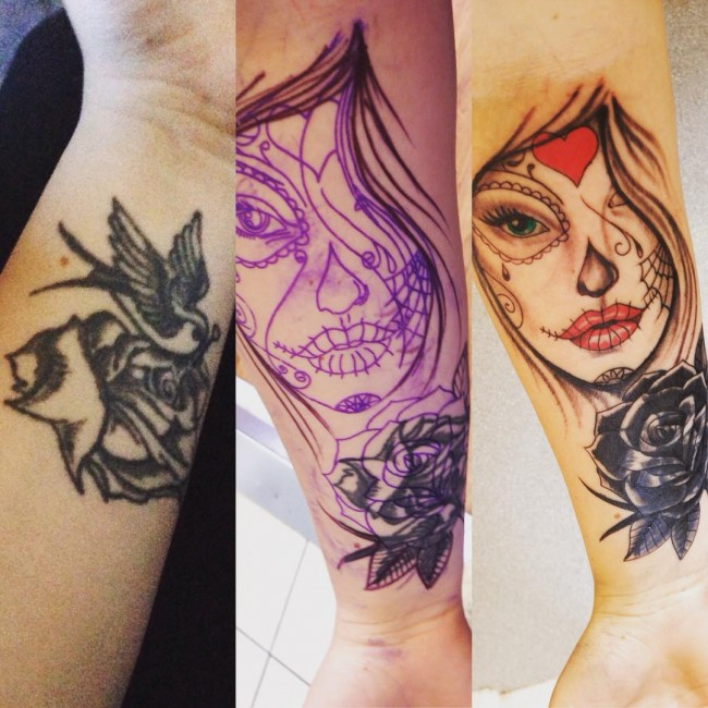 Cover Up Tattoo Ideas On Hand