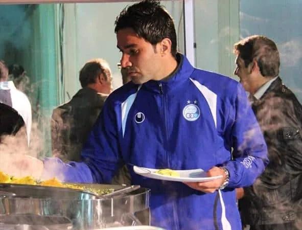 Javad Nekounam Feeling Sad at Esteghlal FC
