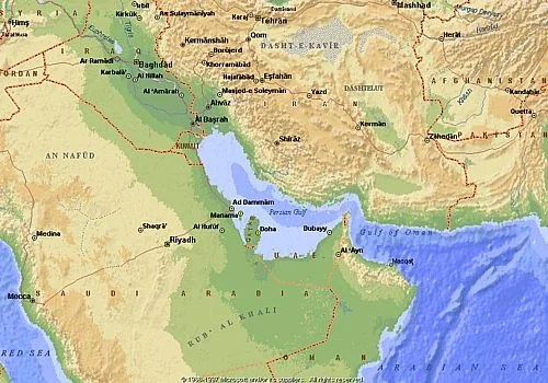 Pirooz Mojtahedzadeh Arab States Failed to Change the Name of Persian Gulf