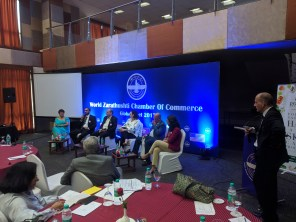 A Business Panel in progress