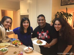 The appetizer team at the end of the Z MasterChef Competition