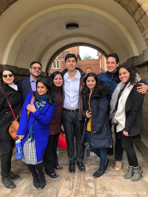 Strolling around Oxford