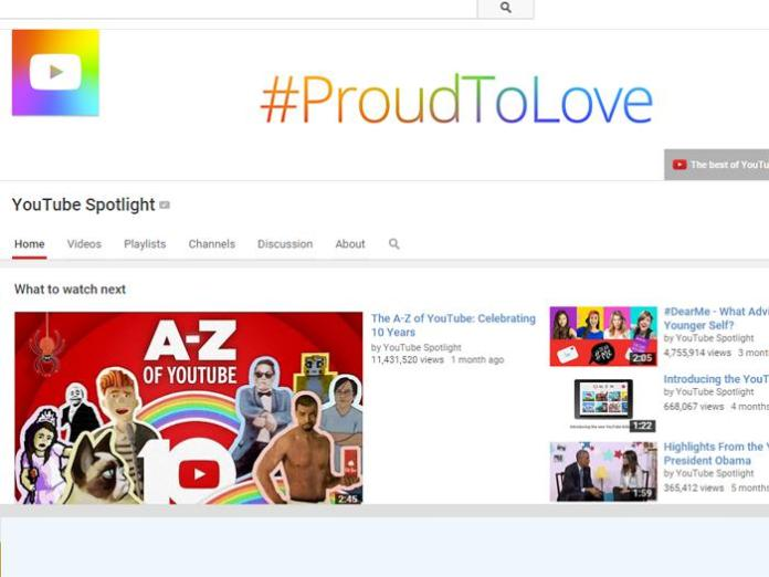 The official Youtube channel page.