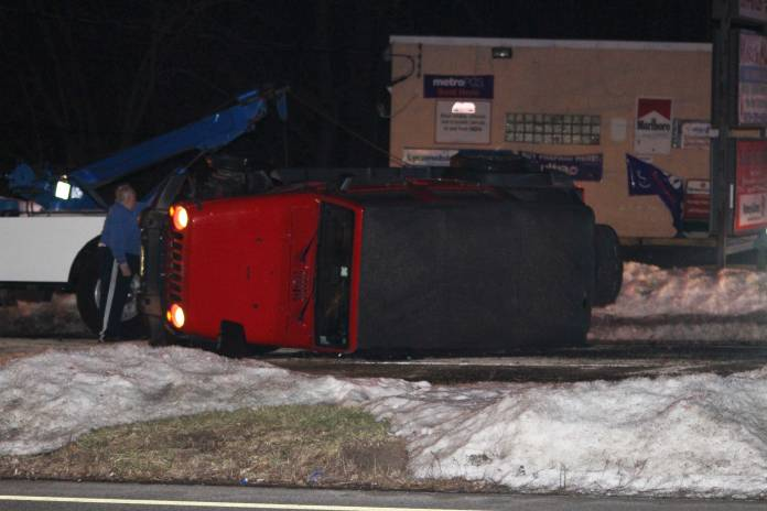 Rt 46 Jeep >> Jeep overturns on Route 46; Driver arrested for DWI | Parsippany Focus